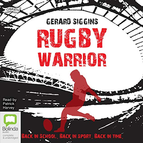 Rugby Warrior audiobook cover art