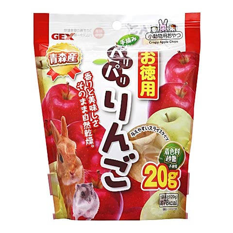 GEX パリパリりんごお徳用 20g