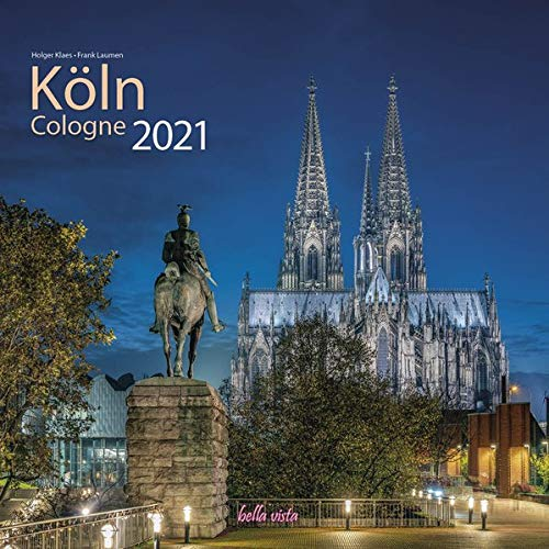 Köln 2021 bella vista Broschürenkalender 30 x 60 cm aufgeklappt