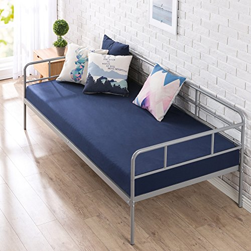 Zinus Leo 39 Inch Twin Daybed Frame / Premium Steel Slat Support