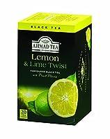 AHMAD TEA (アーマッドティー) レモン&ライム 2g(20P)×6セット