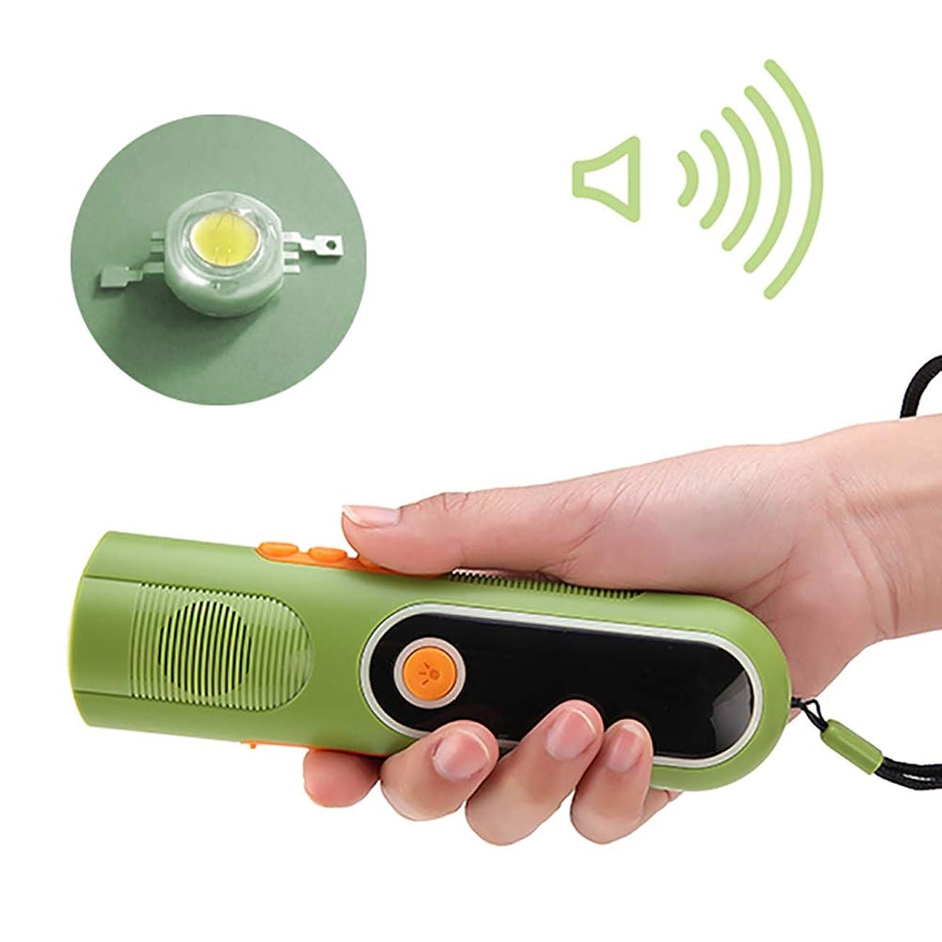 ハンディキャップ基本的な差し引く緊急ハンドクランクポータブルラジオ、屋外緊急充電式ラジオ照明フィールド活動登山旅行長期護衛