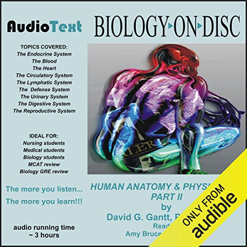 Human Anatomy & Physiology - Part 2 audiobook cover art