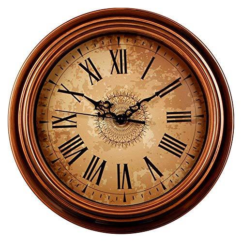 Reloj de Pared Grande Nordic Reloj de Pared de la Sala de Estar nórdica del hogar del Reloj Creativo Reloj Moderno Minimalista atmósfera de la Manera Cuarzo del Reloj de la Sala Personalidad Ronda de