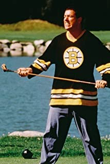 Adam Sandler Happy Gilmore iconic with golf club on course 24x36 Poster