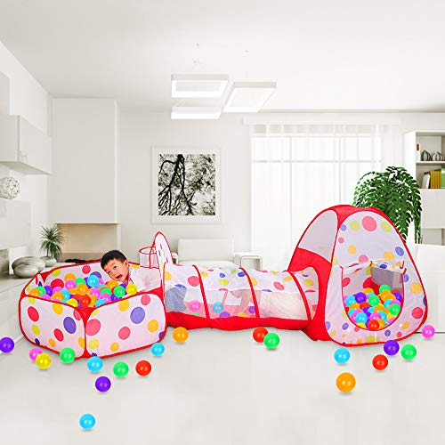 Meigirlxy Tiendas de campaña para niños, Pop Up Tienda de Juegos Plegable...