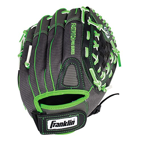 Franklin Sports Softball Glove - Left and Right Handed Softball Fielding Glove - Windmill Fastpitch Pro Series - Adult and Youth Fielding Glove - 12 Inch Right Hand Throw - Lime