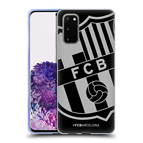 Head Case Designs Offizielle FC Barcelona Zu Gross Wappen Soft Gel Huelle kompatibel mit Samsung Galaxy S20 / S20 5G