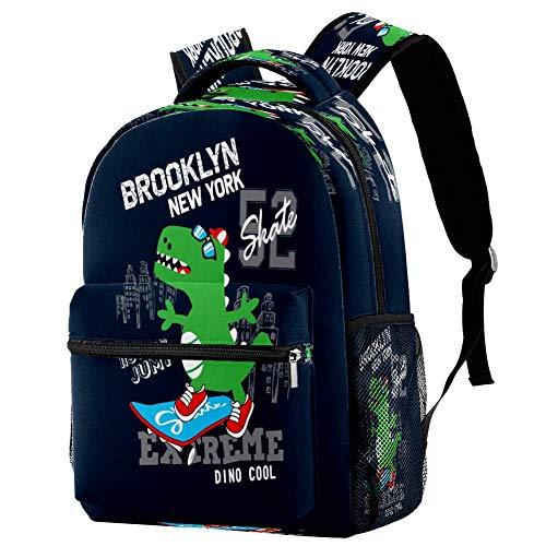 Cool Bulldog Mochila Mochila escolar Bolsa de libro Casual Daypack para viajes, estampado 4 (Multicolor) - bbackpacks004