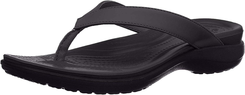 Crocs Women's Capri V Flip Flop | Casual Comfortable Sandals for Women
