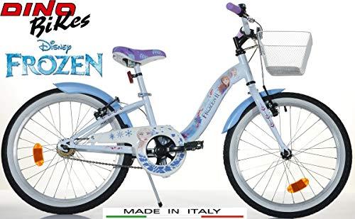 Bicicletta Misura 20 Frozen Dino Bikes per Bambina Art. 204 R-FZ3 Modello Nuovo