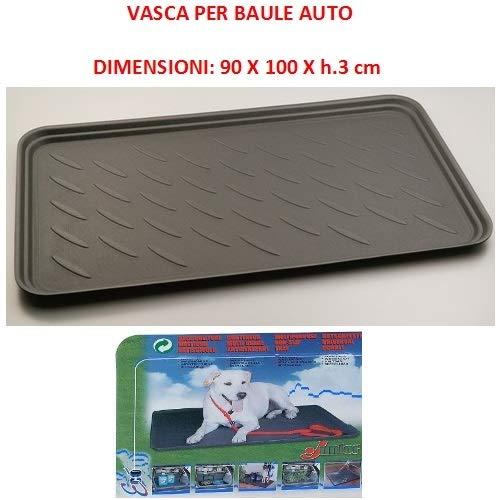 Compatibel met Land Rover Discovery sporttas voor auto's, waterdichte muts, geschikt voor het vervoer van honden en huisdieren, universele vork, 90 x 100 x 3 cm.