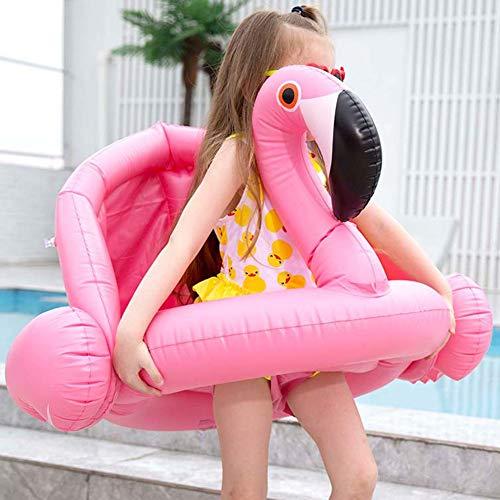 BTXY GalleggianteGonfiabile Anello di Nuoto,BETOY Fenicottero Gonfiabile e Galleggiante Salvagente Piscina Galleggiante per Bambini e Adulti Giocattolo Estate Gonfiabile,Rosa