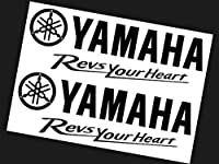 YAMAHA RevsYourHeart TypeA 27cm×2枚 ステッカー ヤマハ ファクトリー レーシング バイク 2輪