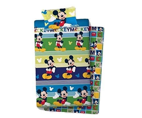 new import licencias Mickey Mouse. Referencia NI Juegos de sábanas y Fundas de Almohada Alfileres para faldón de Cama Textiles del hogar Unisex Adulto, Multicolor, 90cm