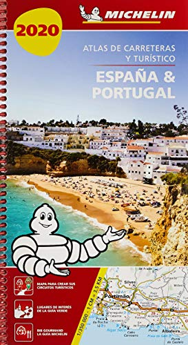 España & Portugal 2020 (Atlas de carreteras y turístico ) (Atlas de carreteras Michelin)