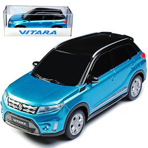 Unbekannt Suzuki Vitara Blau Türkis mit Schwarz ab 2015 1/43 Modellcarsonline Modell Auto