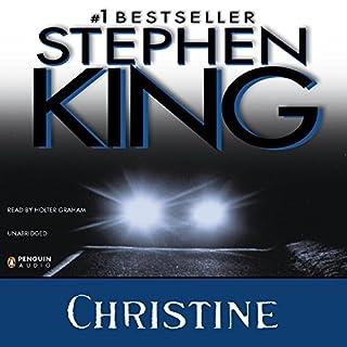 Christine audiobook cover art