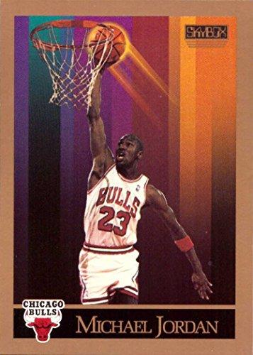 1990-91 Skybox #41 Michael Jordan Basketball Card Chicago Bulls