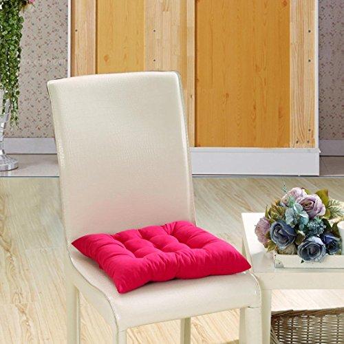 Ouneed® Uni Tatami Salon Coussin de Canapé 40*40cm (Rose vif)