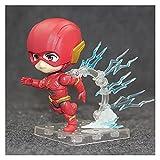 WXFQY Regalos para niños Anime DC Justice League Flash Hero's Edition Q Version Figure Model Toys 10 cm