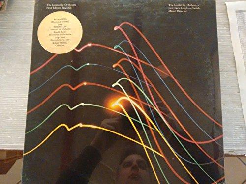 LEES Concerto for Orchestra -HERDER Movements fopr Orchestra - NONO Espressione n. Uno-Vinyl LP-LOUISVILLE-LOU LS 665-LEES Benjamin (USA); HERDER Ronald; NONO Luigi (Italia)-The Louisville Orchestra; WHITNEY Robert (dir)