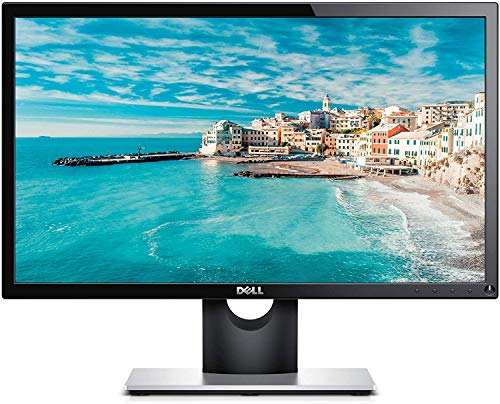 Dell SE2216H 21.5 Inch Full HD (1920 x 1080) Monitor, 60 Hz, VA, 12 ms, Thin Bezel, HDMI, VGA, 3 Years Warranty, Black