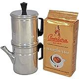 NEAPOLITAN COFFEE POT - BARBERA COFFEE + MAGHETTO - GROUND COFFEE 250G