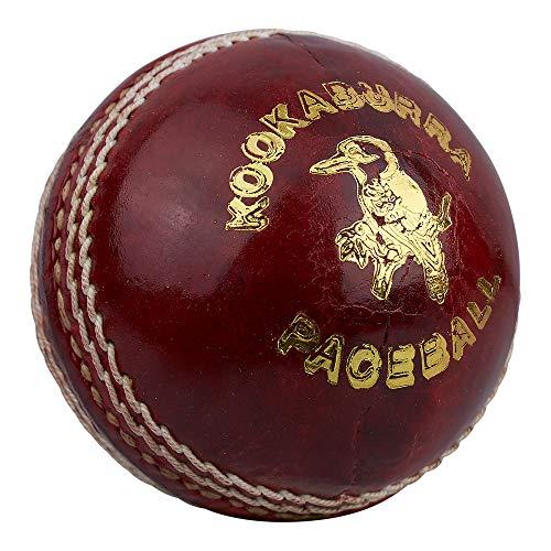 Kookaburra Unisex Paceball Cricketball, 155 g, Rot
