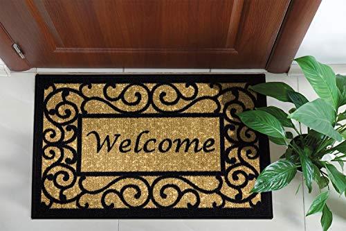 Ottomanson Ottohome Collection Non-slip Welcome Doormat , 20