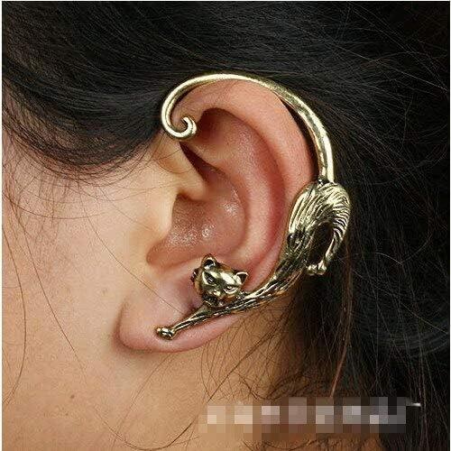 Summer Style Snake/Cat Ear Cuff Earrings Punk Earings Clip On Earrings Ear Cuffs For Women Earcuff Jewelry Clips For The Ears