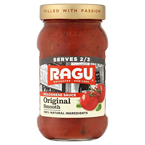 Ragu Glatte Bolognese Pasta Sauce (375g) - Packung mit 2