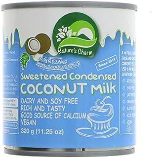 Natures Charm Leche De Coco Condensada 320ml | Sin lactosa (Pack de ...