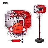evergreemi Tragbarer Basketballkorb, Basketball-Set mit Einstellbarer Höhe, Abnehmbarer Basketball-Ständer für den Innen- und Außenbereich für Kinder/Jugendliche/Jugendliche