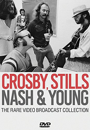 Crosby Stills Nash & Young - The Rare Video Broadcast Collection