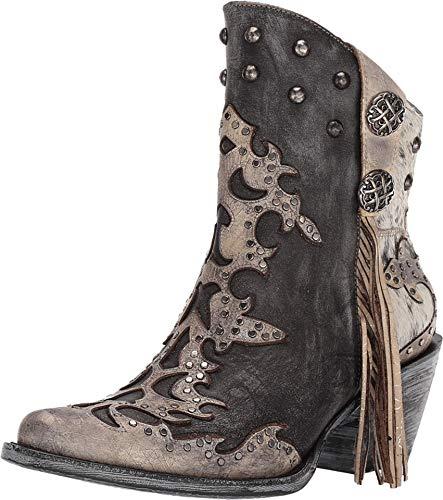 Corral Boots Z0092 Black 8.5 B (M)