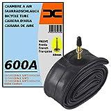 cyclingcolors Chambre A AIR Velo 600A Confort 24 x 1 3/8' (28/37-540) Valve Presta 40MM Roue Route Course VTT VTC