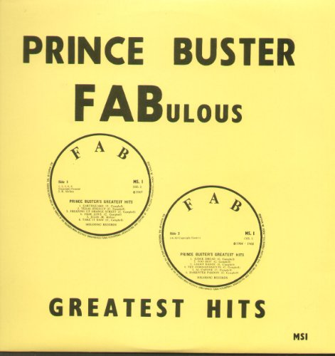 Prince Buster FABulous Greatest Hits [VINYL ALBUM]
