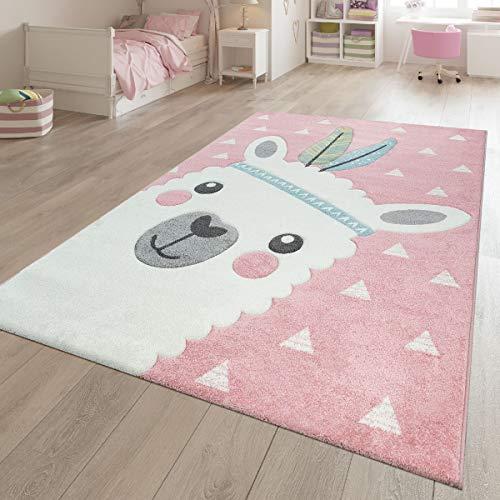 TT Home - Alfombra de juegos para habitación infantil, diseño de alpaca...