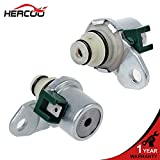 HERCOO 4F27E/FN4A-EL Transmission Shift Solenoid A&B Kit Set Compatible with 1999-up Ford Focus/Fusion/Fiesta, Mazda 3 5 6 CX-7/Protege/Tribute