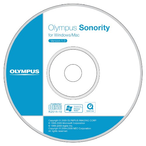 Olympus Sonority AS52 und DSS Player V7 Plus Upgrade CD-ROM
