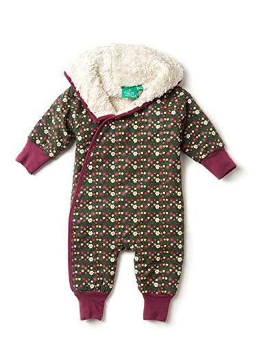 Little Green Radicals Baby Girls Snugglesuit. 100% Organic...