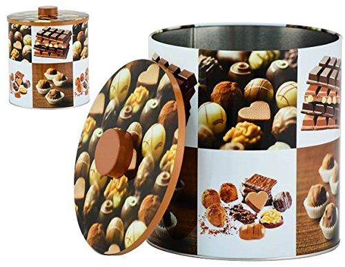 AVENUELAFAYETTE Boîte Pot métal Cuisine Chocolat - 20 cm