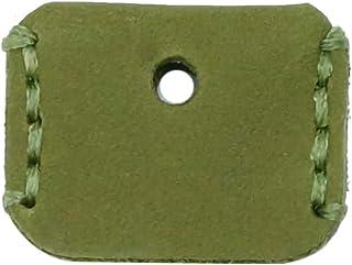 prendre 鍵カバー キーカバー キーキャップ 本革 牛革 キーホルダー キーケース キーリング おしゃれ ペア プレゼント 鍵 ストラップ (ダークオリーブ) PR-W010-K-11