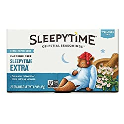 Soothing naturals ingredients Zero caffeine Delicious classic sleepytime flavour Promotes relaxation Contains chamomile, tilia flowers, calming valerian