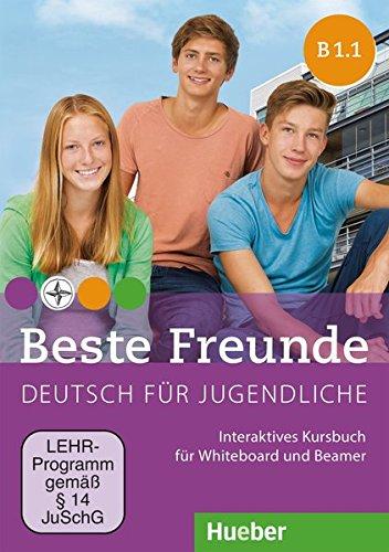 Beste Freunde B1/1: Deutsch für Jugendliche.Deutsch als Fremdsprache / Interaktives Kursbuch für Whiteboard und Beamer – DVD-ROM