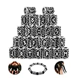 Amandsyl Perle de Barbe Bracelet Pendentif Collier Bricolage