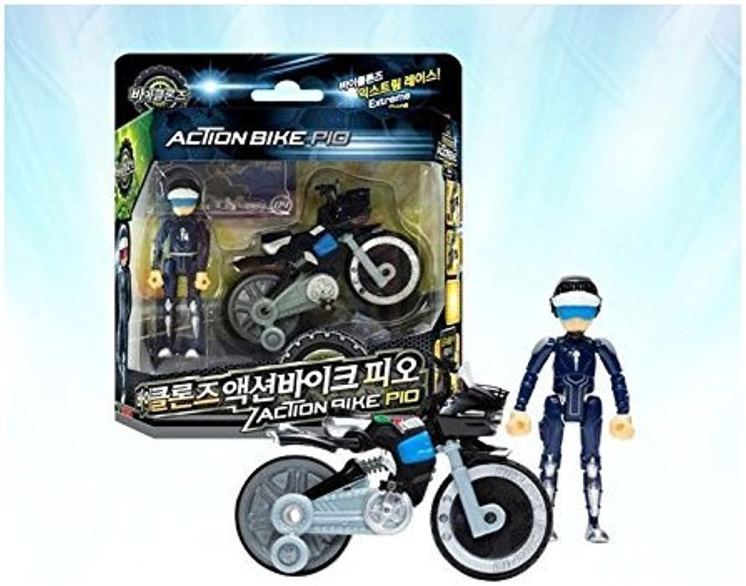 BIKLONZ ACTION BIKE REO, KOREAN TOY, KOREAN ANIMATION