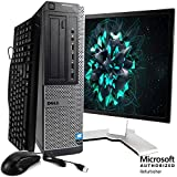 Dell Optiplex 990 Desktop Computer Package - Intel Quad Core i5 3.1GHz Processor, 8GB RAM, 500GB Hard Drive, DVD, 19 Inch LCD Monitor, New USB Keyboard, Mouse & WiFi, Windows 10 (Renewed)