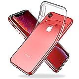 Youriad iPhone XR ケース | 透明 クリア ソフト | 特徴 軽量 6.1インチ 薄型 ストラップ 滑り止め ワイヤレス充電対応 落下防止 TPU(iPhonexr カバー 専用)